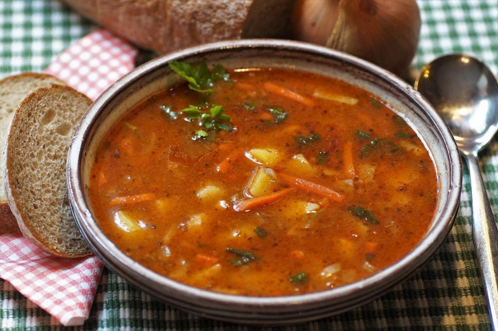 温かい スープ 脂肪燃焼 ダイエット 食べる